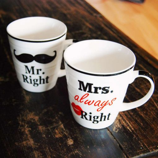 Mr. And Mrs. Right Par Šolja