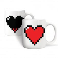 Šolja Pixel Srce