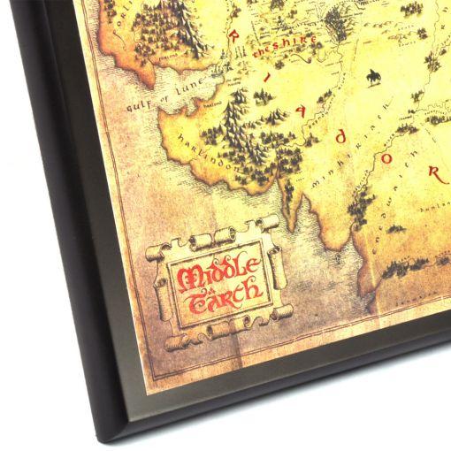 Middle Earth Mapa