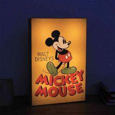 Mickey Mouse Art Lampa