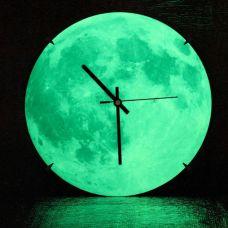 Svetleći Mesec - Zidni Sat