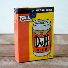 Duff Beer Karte