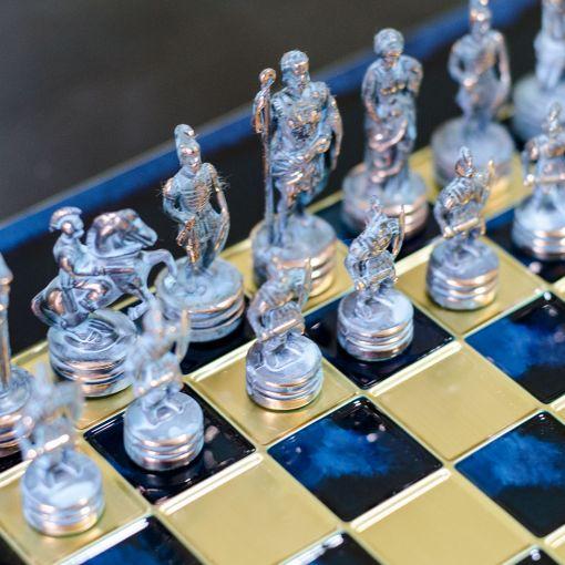 Šah Komplet - Corinth Plavi
