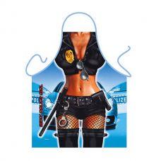 Ženska Kecelja - Policajka