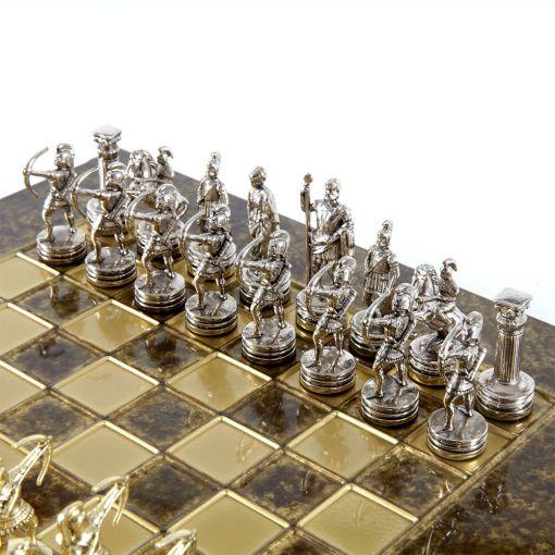 Šah Grčki Strelci - Braon