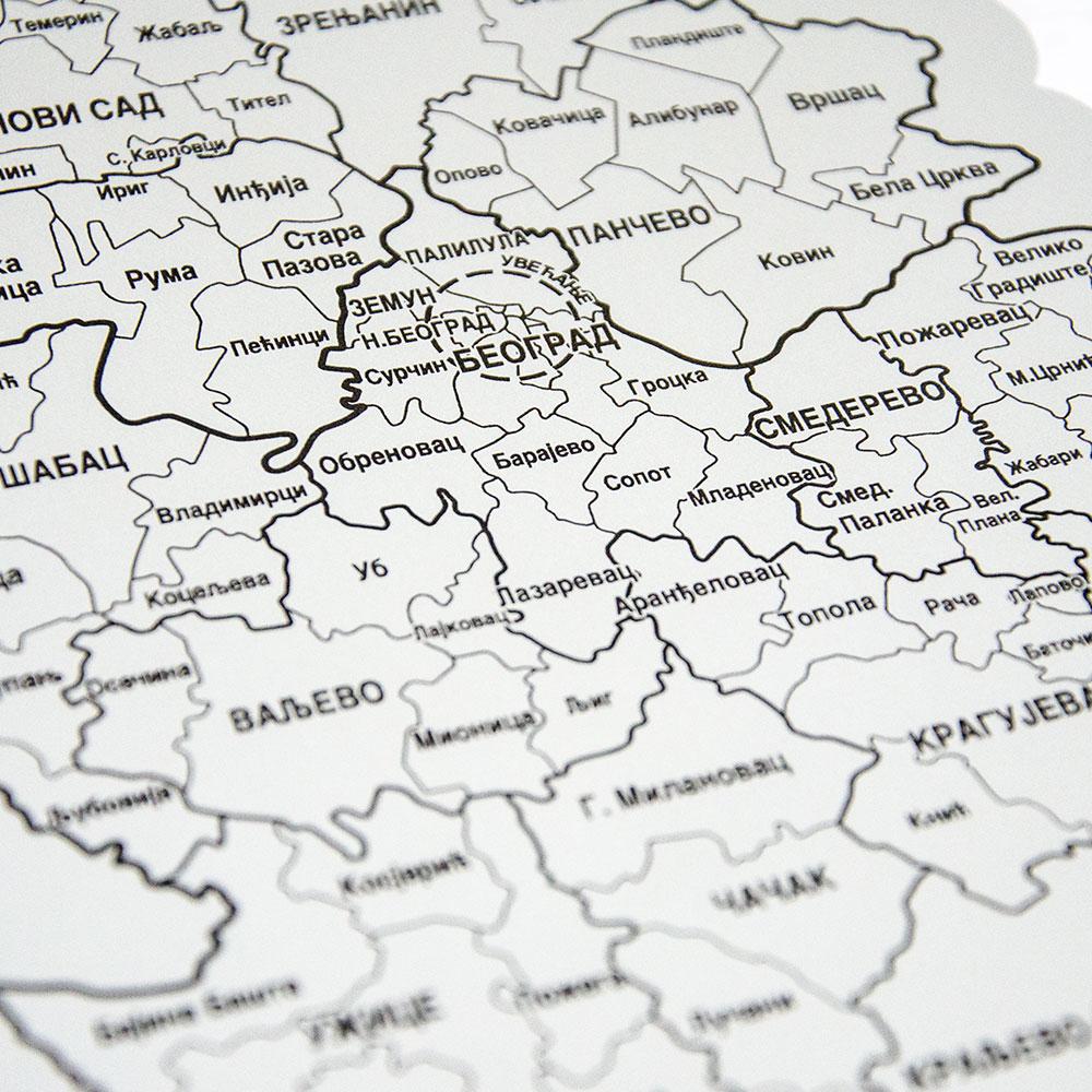 Greb Mapa Srbije Gift Shop Pokloni Com Srbija
