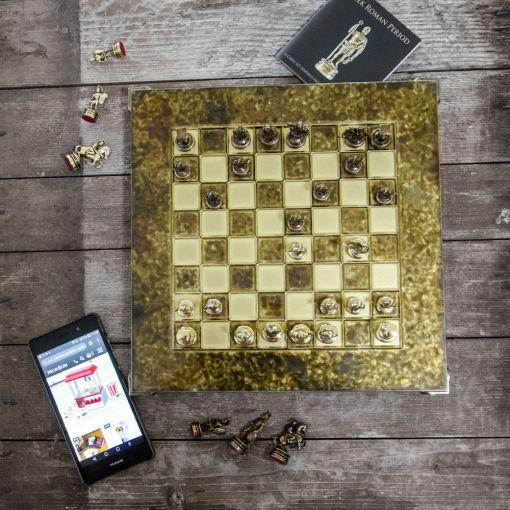 Šah Komplet - Corinth Braon