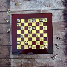 Šah Komplet - Corinth Bordo