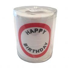 Rođendanski Toalet Papir - Blanko