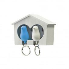 Ptičice Privesci Za Ključeve Plavo-Bela