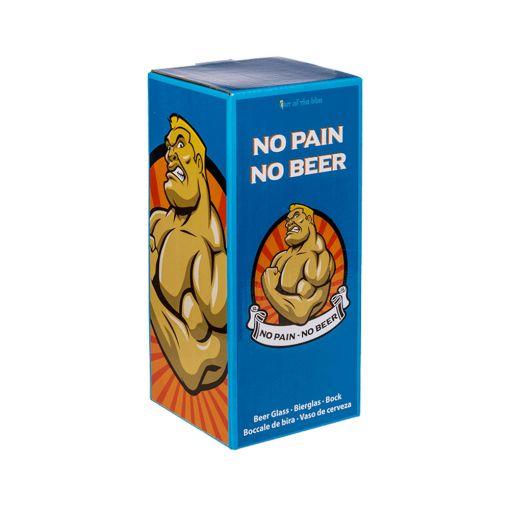 No Pain - No Beer Čaša