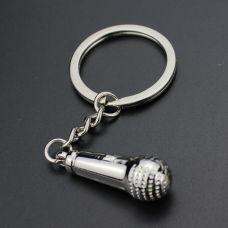 Mikrofon Privezak za Ključeve