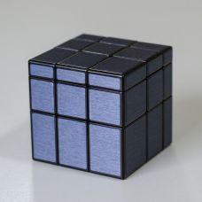 QY Mirror 3x3 Black-Blue Kocka