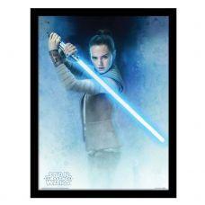 Star Wars Uramljeni Poster Rey