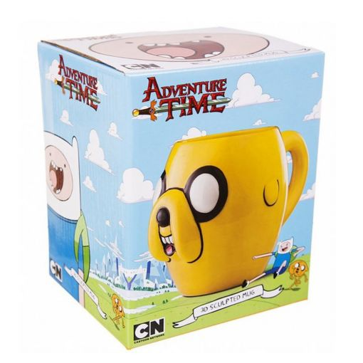 Adventure Time Jake 3D šolja