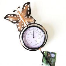 Deko Termometar Leptir