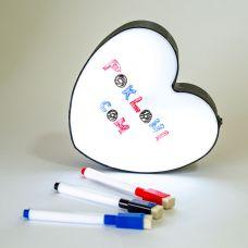 Svetleće Srce za Pisanje