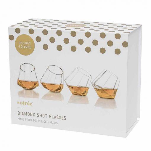 Dijamantske Čašice (set od 4)