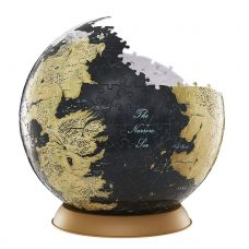 Westeros and Essos Globus Puzzle