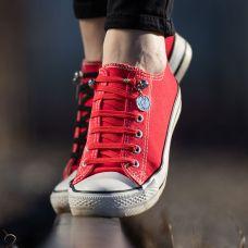 QuickShoelace pertle - Crvene