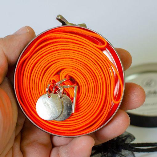 QuickShoelace pertle - Neon Narandžaste