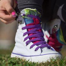 QuickShoelace pertle - Ljubičaste