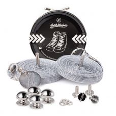 QuickShoelace pertle - Srebrne