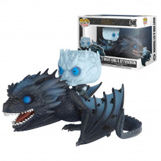 Night King & Viserion POP Figura