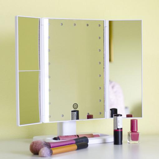 Ogledalo Za Šminkanje Belo