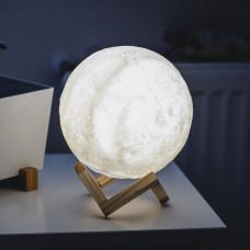 3D Mesec Lampa V2