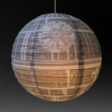 Death Star Papirni Luster