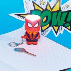 Spider-Man Led Privezak
