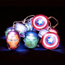 Avengers Marvel 2D Led Lanac