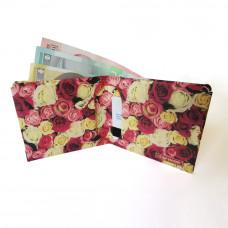 Papirni Novčanik - Ruže
