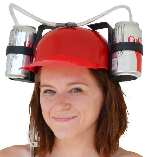 Kaciga za Pivo - Crvena