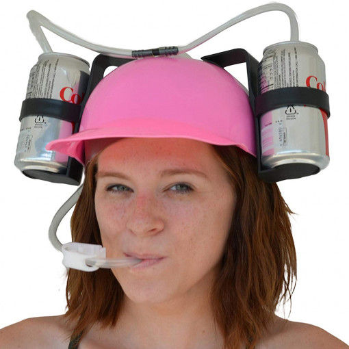 Kaciga za Pivo - Pink