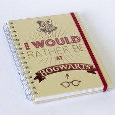 Sveska I'd rather be at Hogwarts