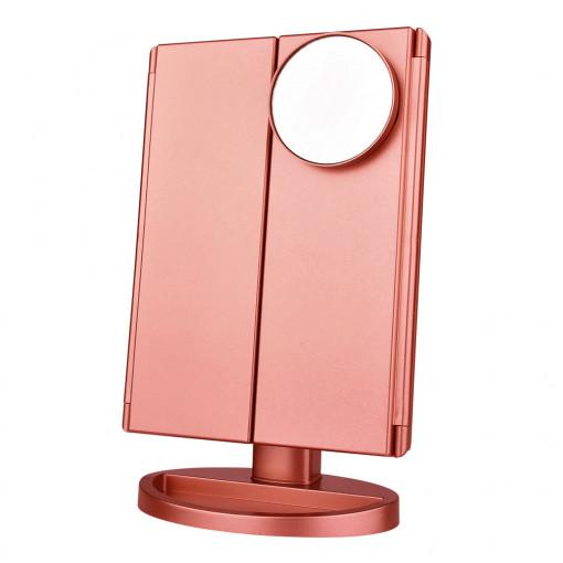 Ogledalo Za Šminkanje Bronzano
