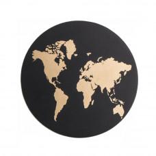 Podmetači Mapa Sveta Crni