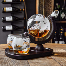 Deluxe Viski Globus Set