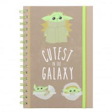 Yoda Cutest In The Galaxy Sveska