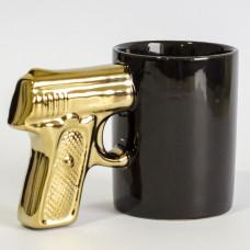 Pištolj Šolja - Zlatna Drška