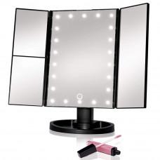 Kozmetičko Ogledalo Crno