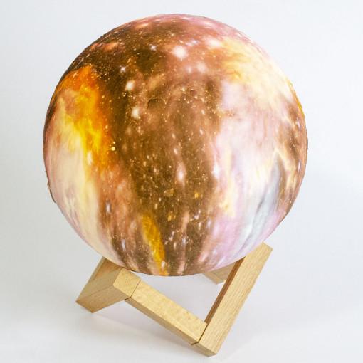 3D Zvezdana Lampa 18cm V2