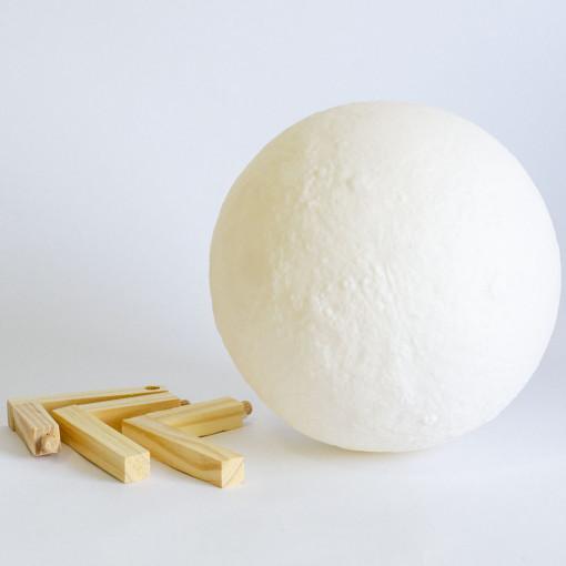 3D Mesec Lampa 18 cm