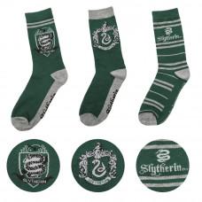 Harry Potter Slytherin Čarape - 3 para