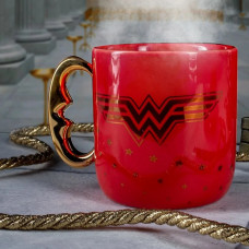 Wonder Woman Retro Šolja Crvena