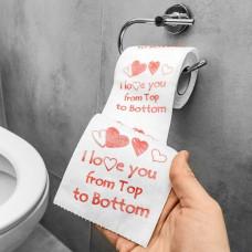 Toalet Papir I Love You