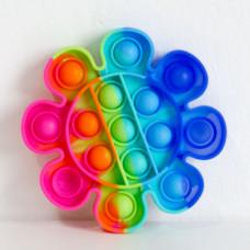 Fidget Pop It Rainbow Cvet