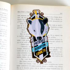 HP Hufflepuff Bookmarker